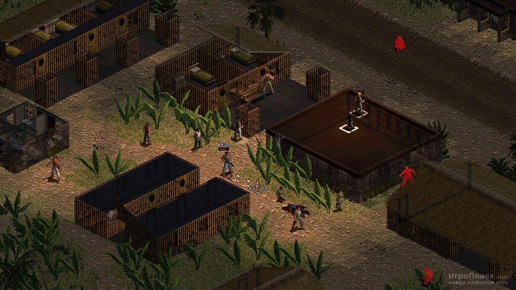 Скриншот к игре Jagged Alliance 2: Wildfire