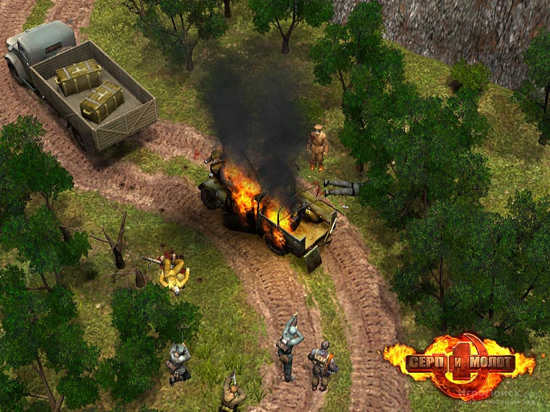 Скриншот к игре Hammer and Sickle