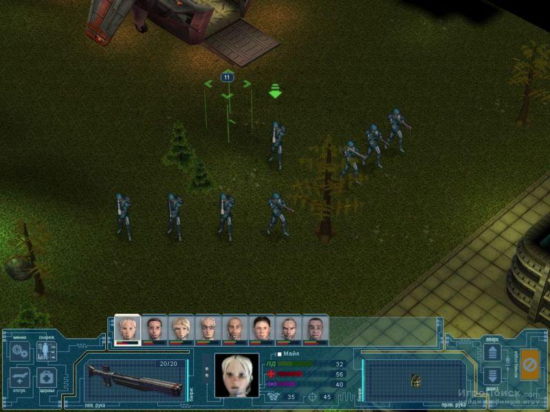 Скриншот к игре UFO: Extraterrestrials