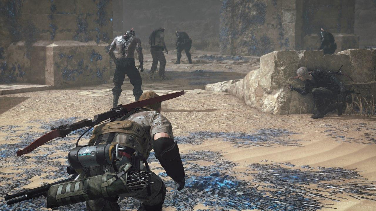 Скриншот к игре Metal Gear Survive