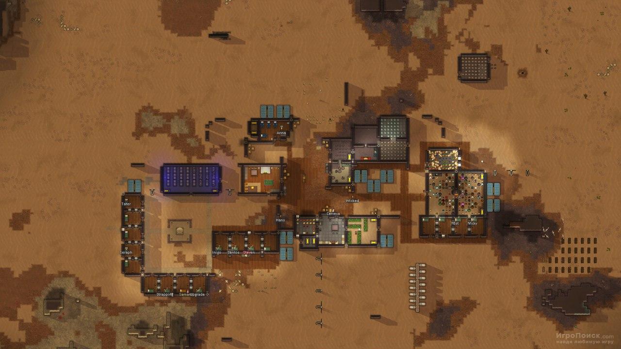 Скриншот к игре RimWorld
