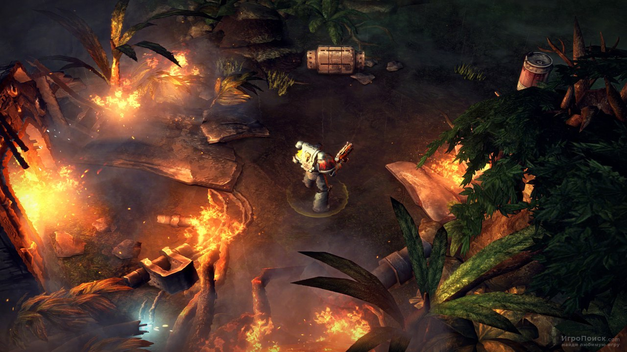 Скриншот к игре Warhammer 40,000: Space Wolf