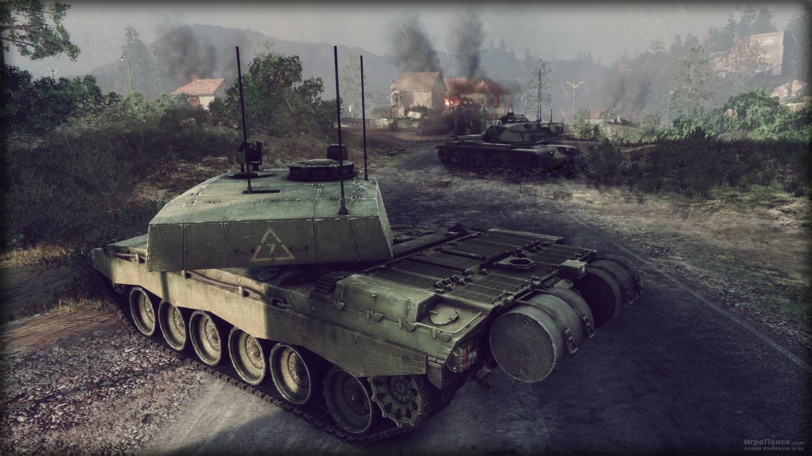 Скриншот к игре Armored Warfare