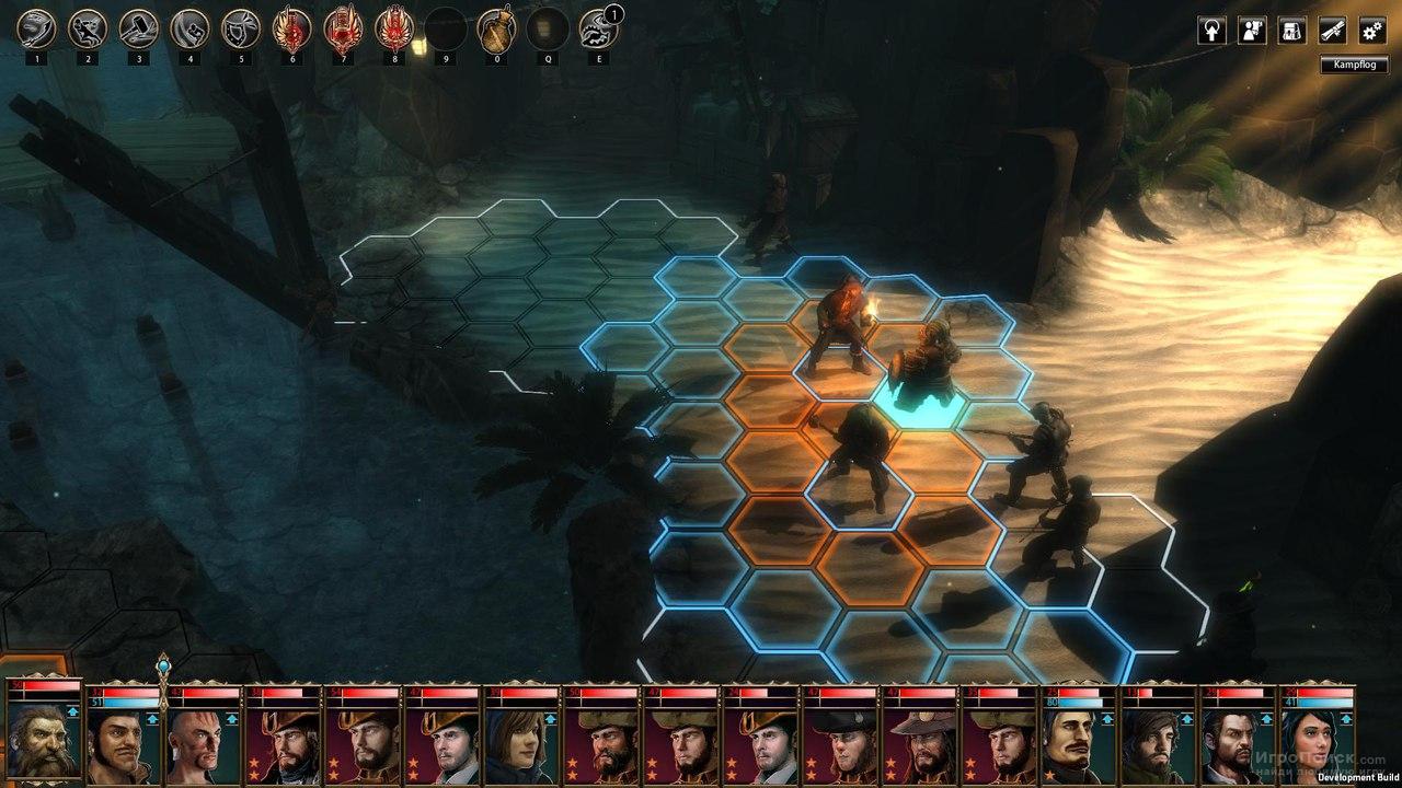 Скриншот к игре Blackguards: Untold Legends