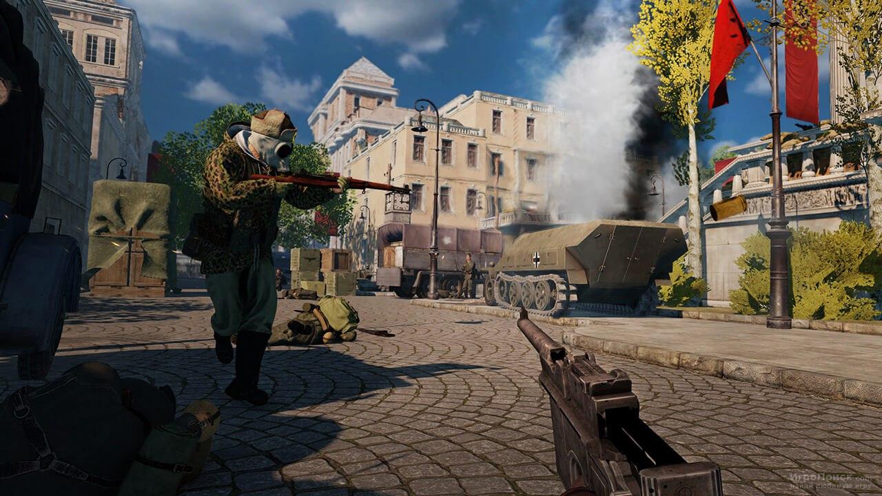Скриншот к игре RAID: World War II