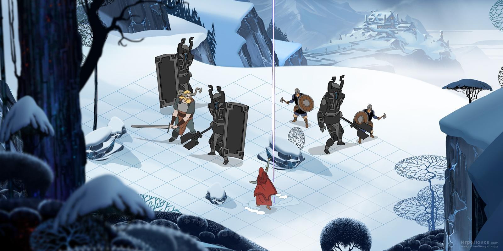 Скриншот к игре The Banner Saga 3