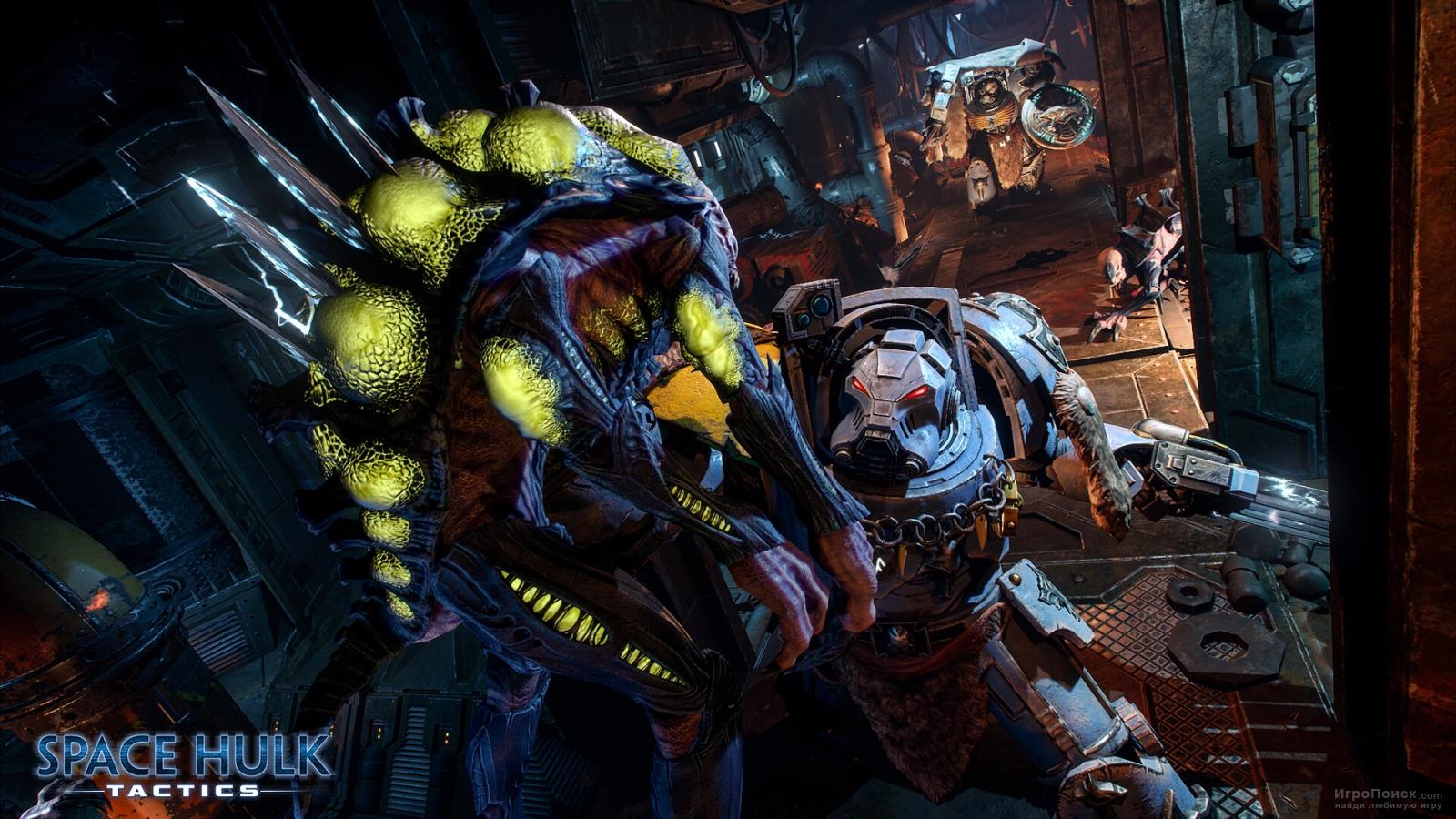 Скриншот к игре Space Hulk: Tactics
