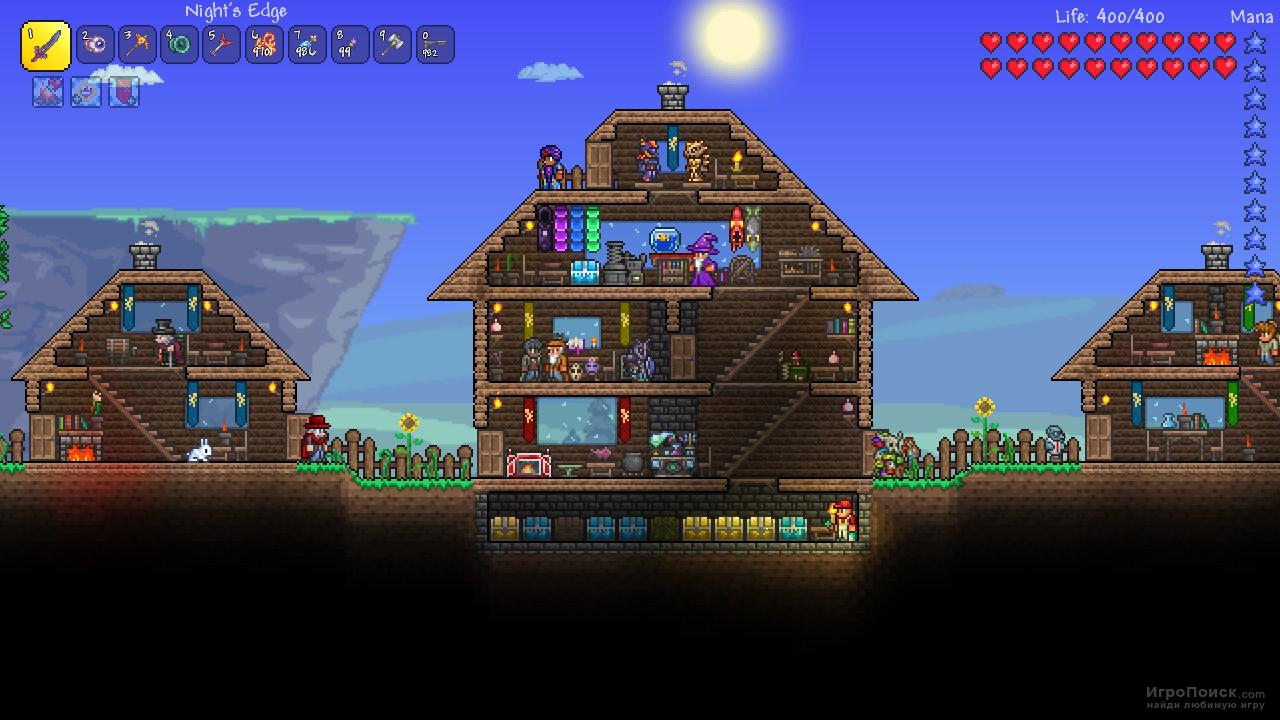 Скриншот к игре Terraria