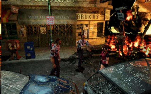 Скриншот к игре Resident Evil 2
