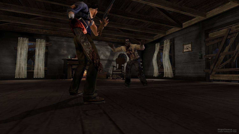 Скриншот к игре Evil Dead: Regeneration