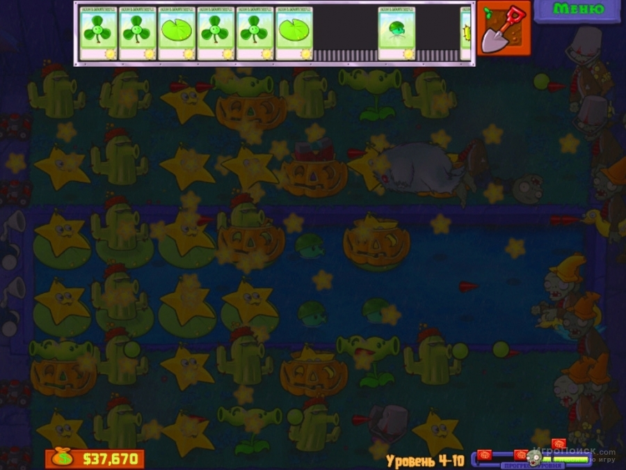 Скриншот к игре Plants vs. Zombies