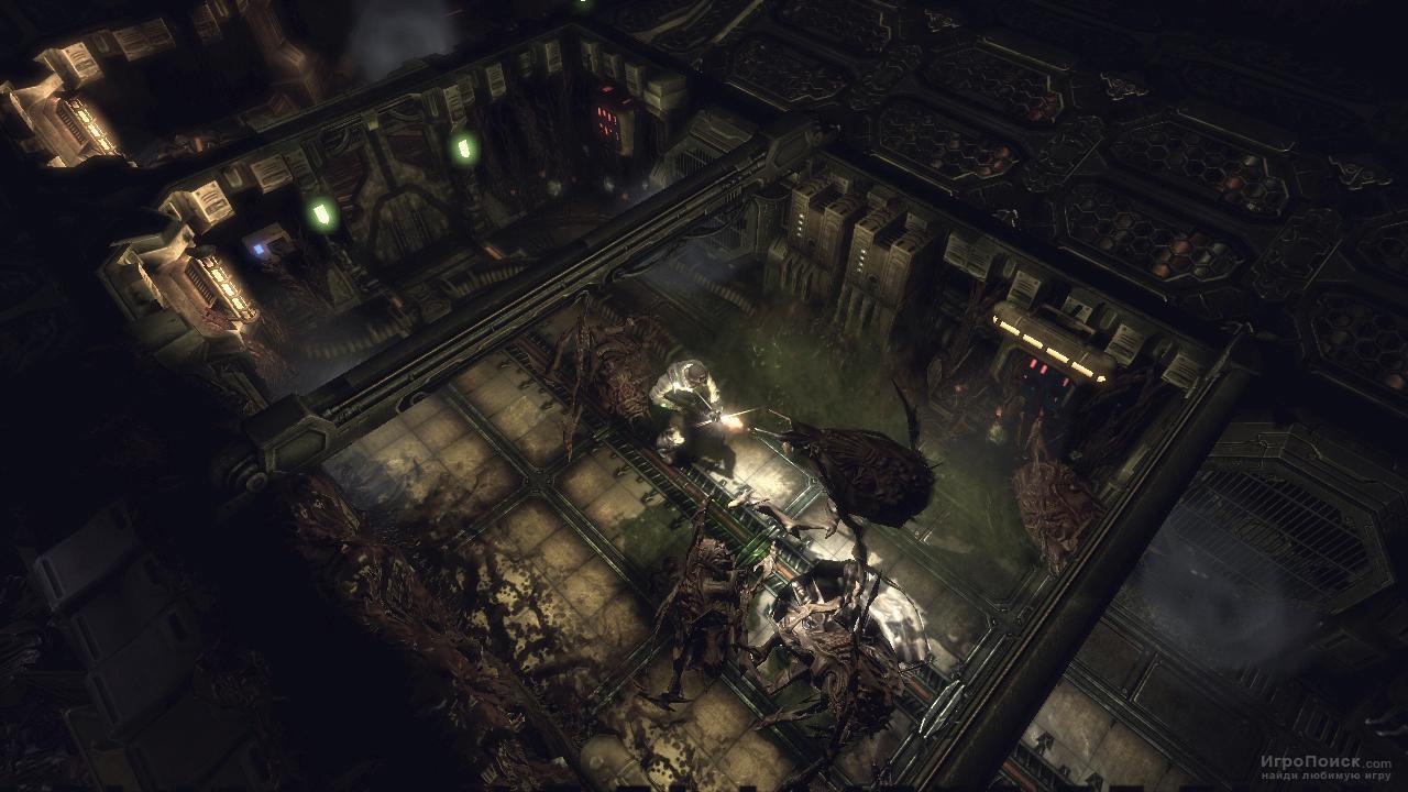 Скриншот к игре Alien Breed: Impact