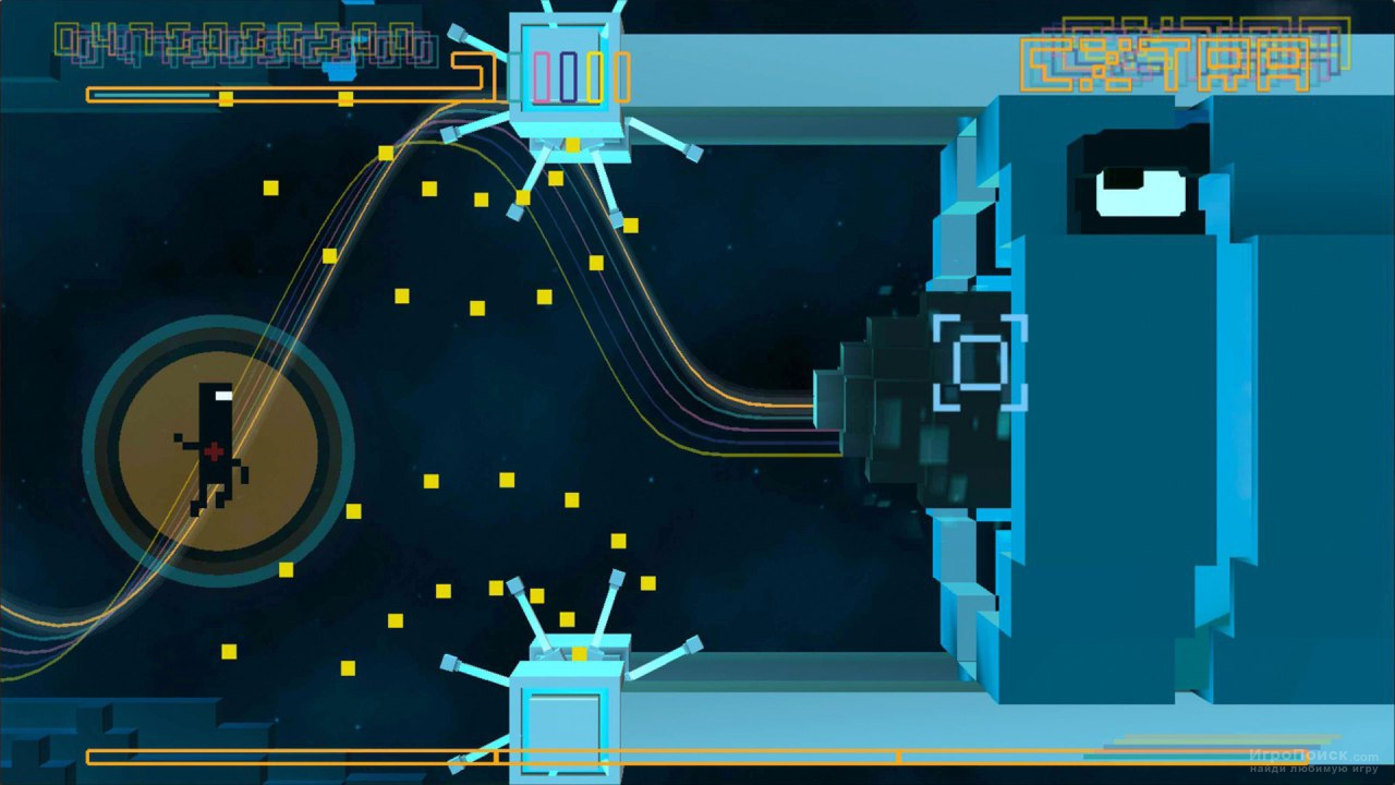 Скриншот к игре Bit.Trip Fate
