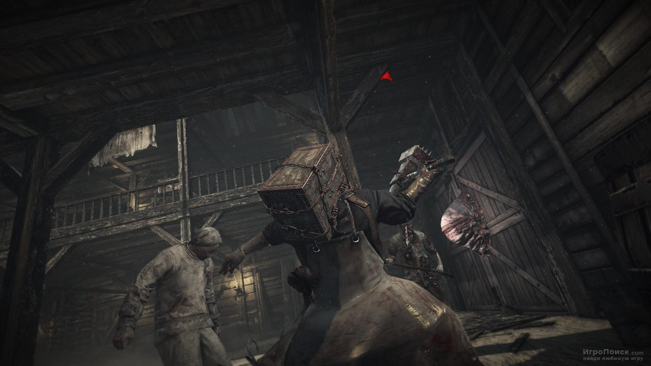 Скриншот к игре The Evil Within: The Executioner