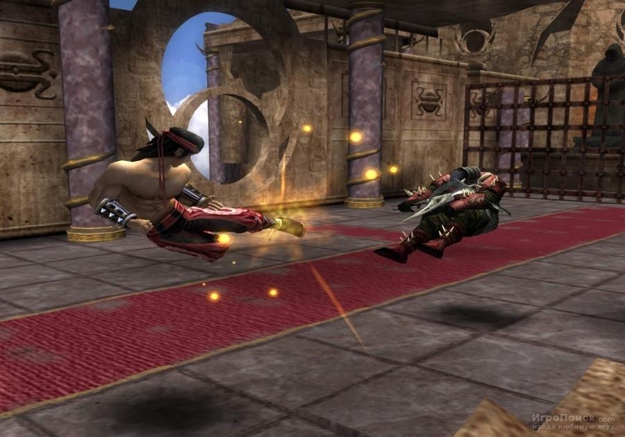 Скриншот к игре Mortal Kombat: Shaolin Monks