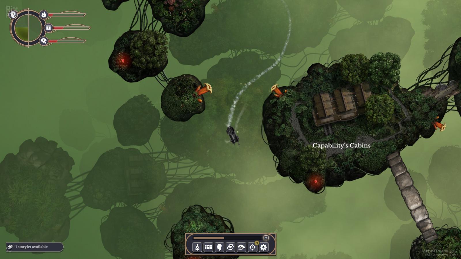 Скриншот к игре Sunless Skies