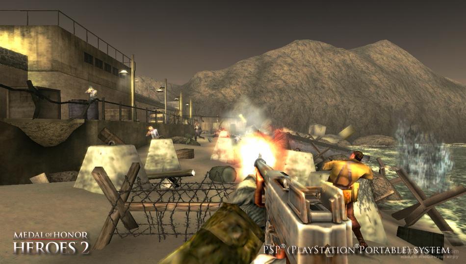 Скриншот к игре Medal of Honor: Heroes 2