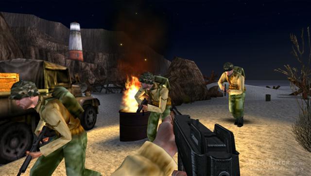 Скриншот к игре Medal of Honor: Heroes