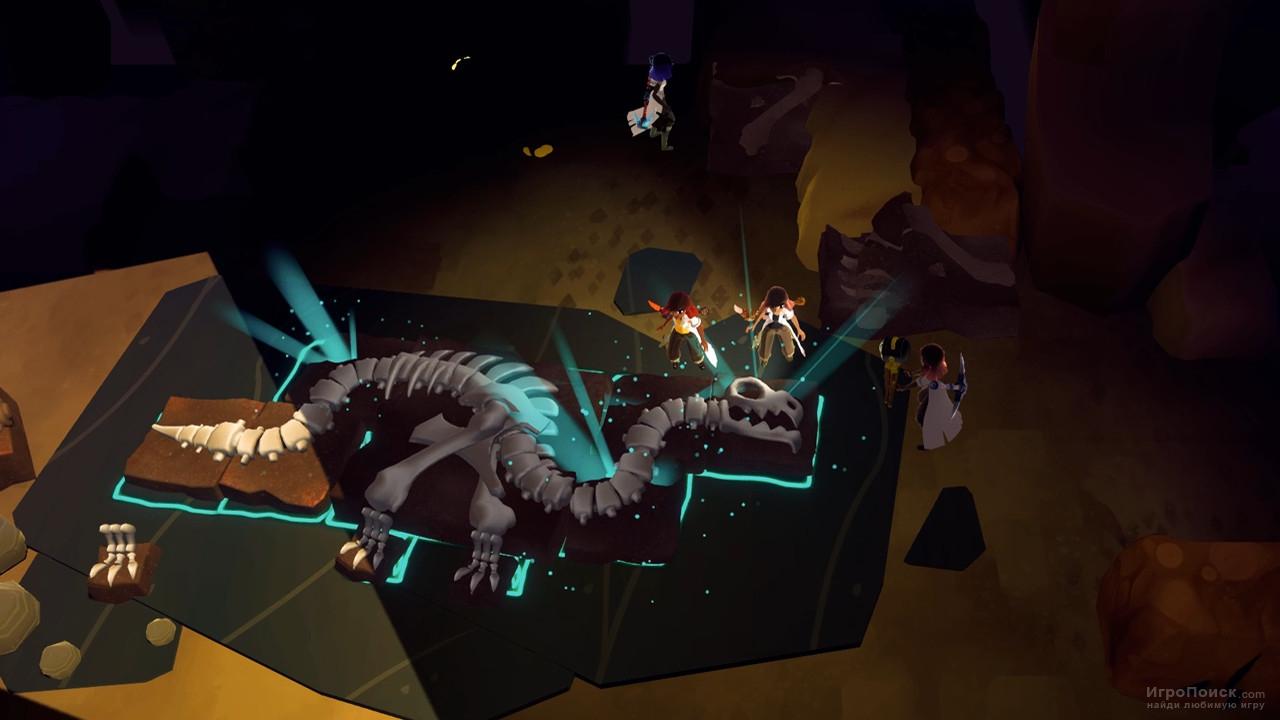 Скриншот к игре Fossil Hunters