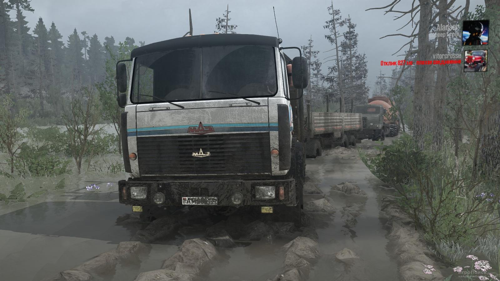 Скриншот к игре Spintires: MudRunner