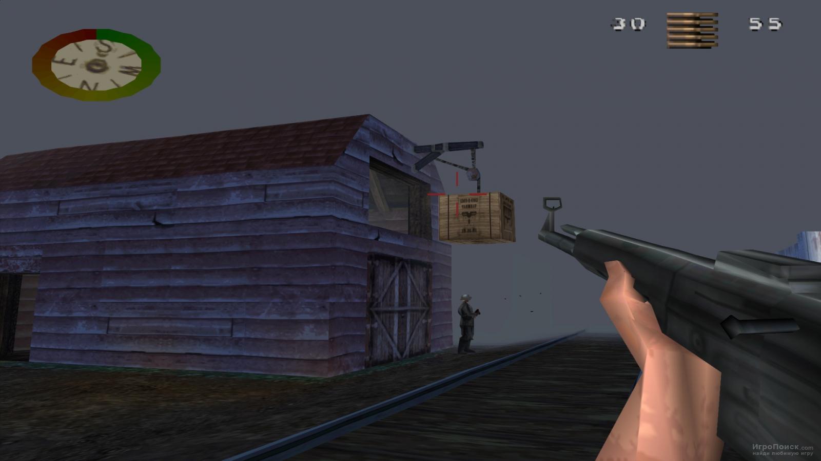 Скриншот к игре Medal of Honor: Underground