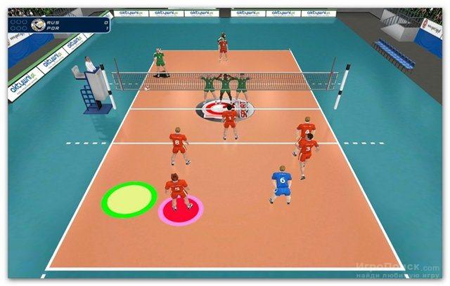 Скриншот к игре International Volleyball 2010