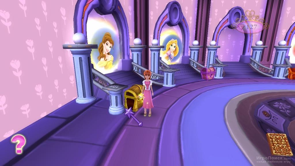 Скриншот к игре Disney Princess: My Fairytale Adventure