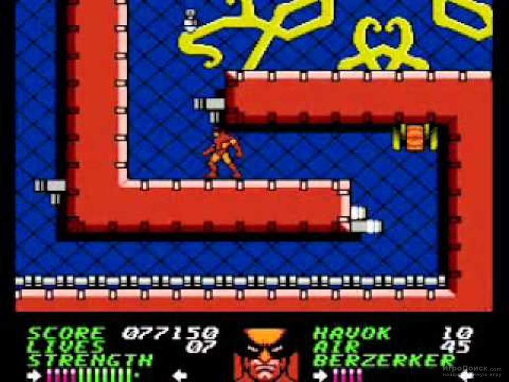 Скриншот к игре Wolverine