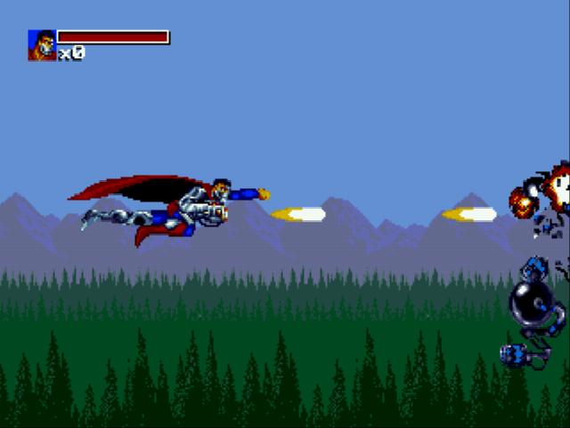 Скриншот к игре The Death and Return of Superman