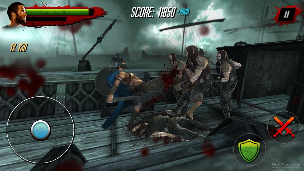 Скриншот к игре 300: Rise of an Empire - Seize Your Glory Game