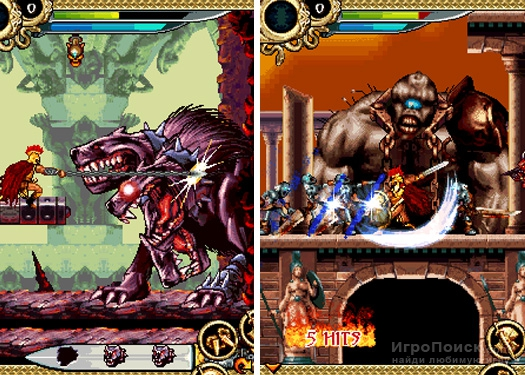 Скриншот к игре Hero of Sparta
