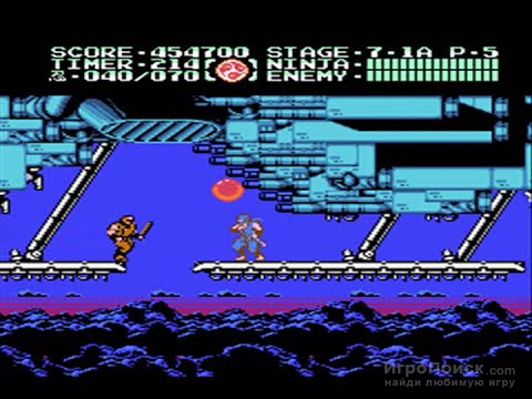 Скриншот к игре Ninja Gaiden III: The Ancient Ship of Doom