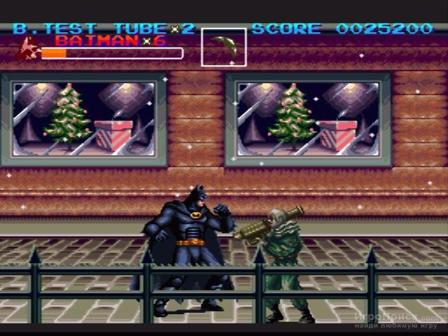 Скриншот к игре Batman Returns