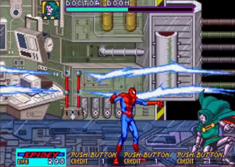 Скриншот к игре Spider-Man: The Video Game
