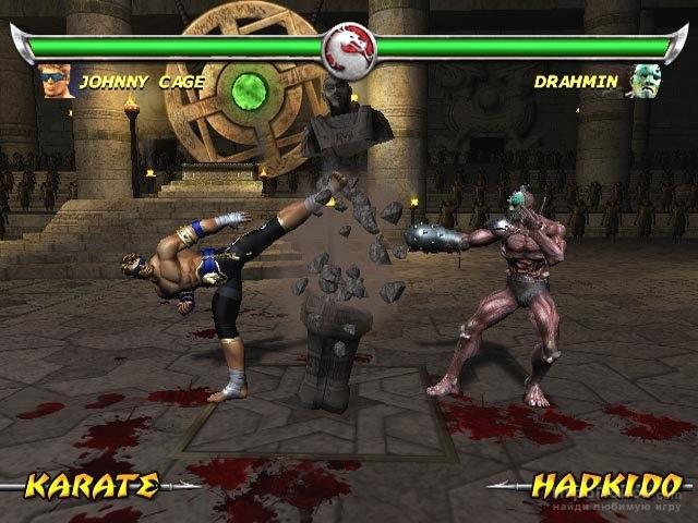 Скриншот к игре Mortal Kombat: Deadly Alliance