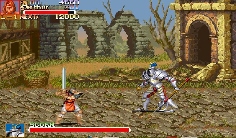 Скриншот к игре Knights of the Round