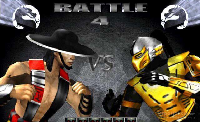 Скриншот к игре Mortal Kombat Gold