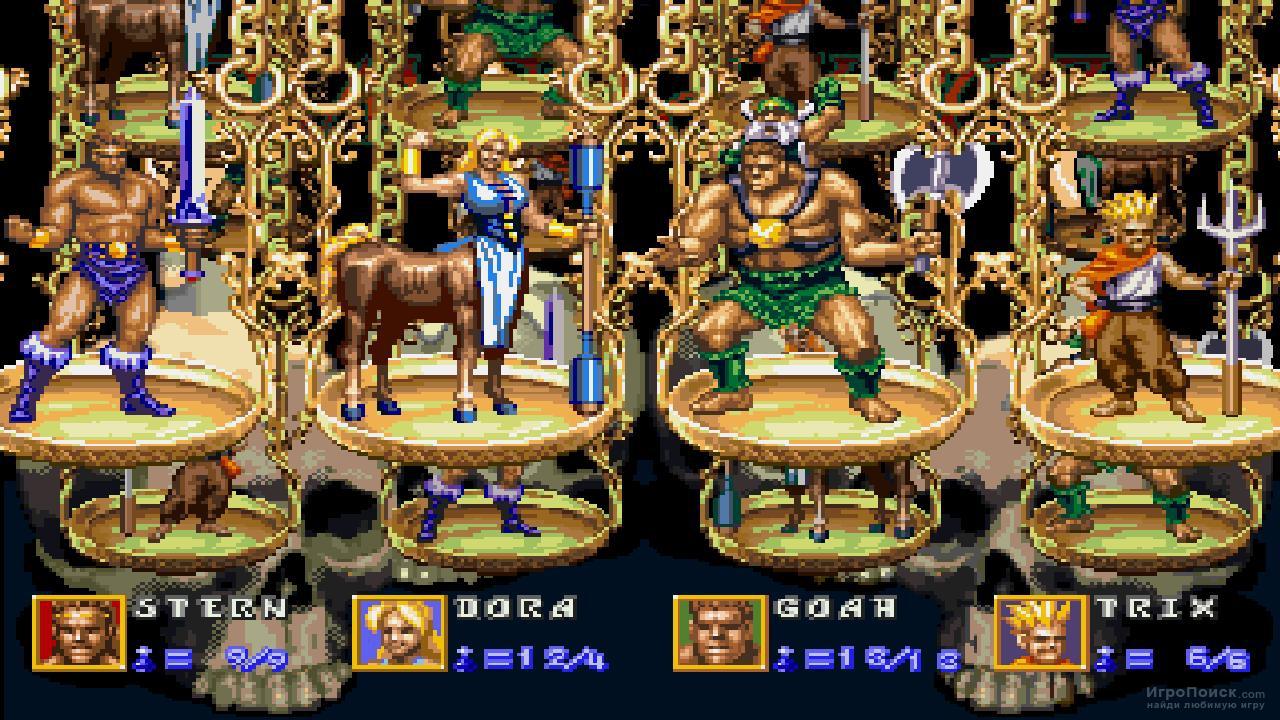 Скриншот к игре Golden Axe: The Revenge of Death Adder