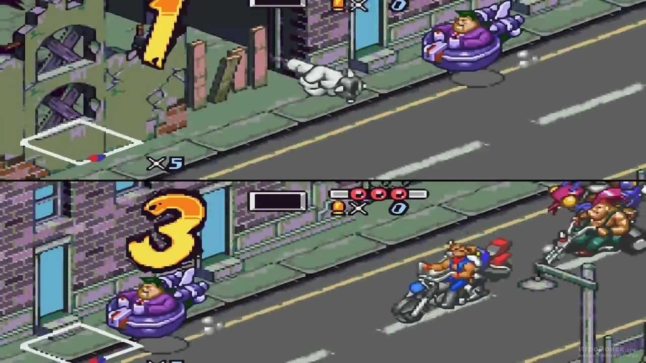 Скриншот к игре Biker Mice from Mars