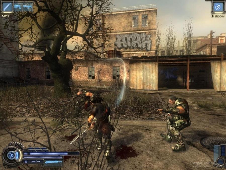 Скриншот к игре Collapse: The Rage