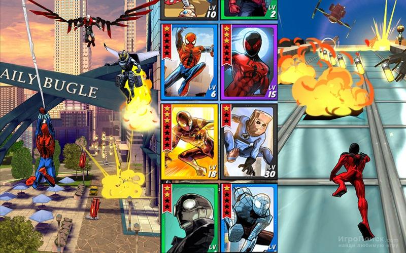 Скриншот к игре Spider-Man Unlimited