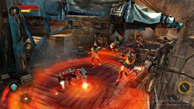 Скриншот к игре Godfire: Rise of Prometheus