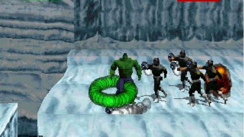 Скриншот к игре The Incredible Hulk: The Pantheon Saga