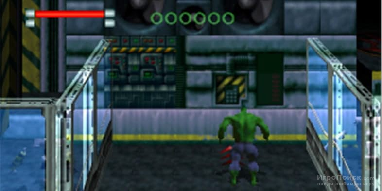Скриншот к игре The Incredible Hulk: The Pantheon Saga
