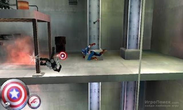 Скриншот к игре Captain America: Sentinel of Liberty