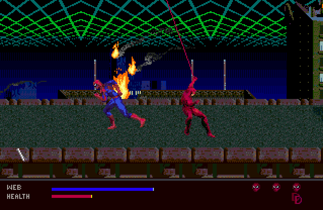Скриншот к игре The Amazing Spider-Man: Web of Fire
