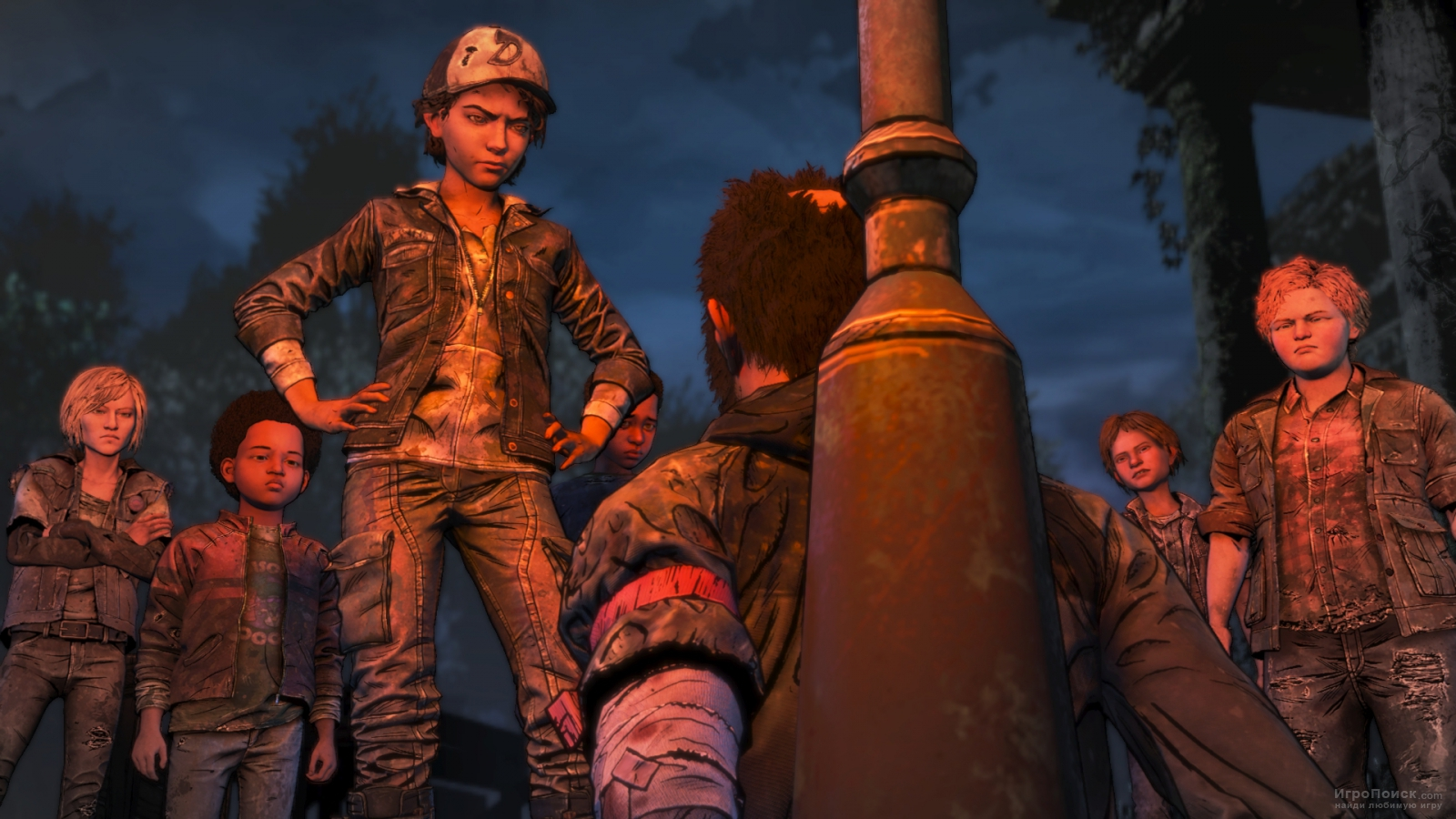 Скриншот к игре The Walking Dead: The Final Season
