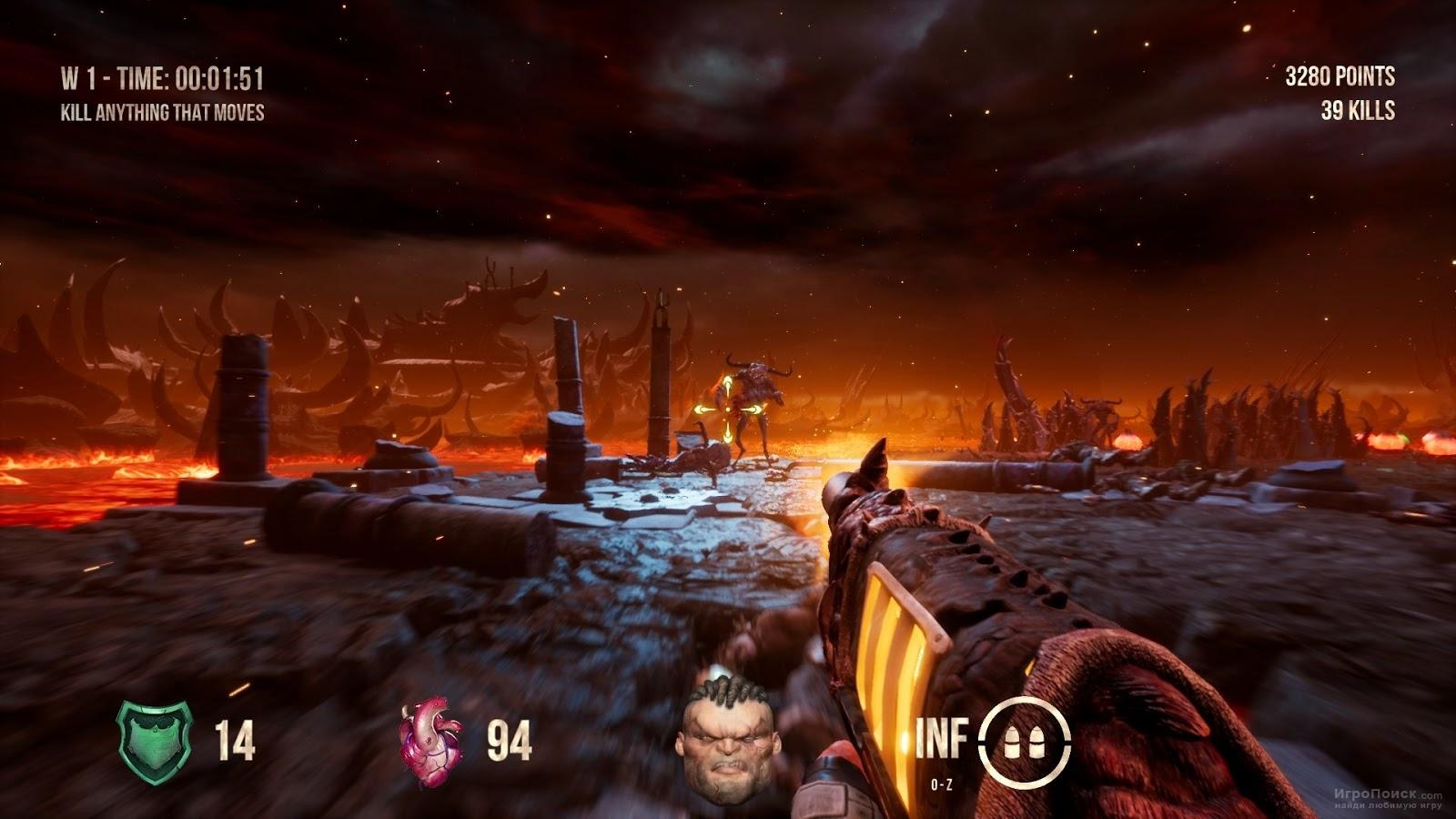 Скриншот к игре Hellbound