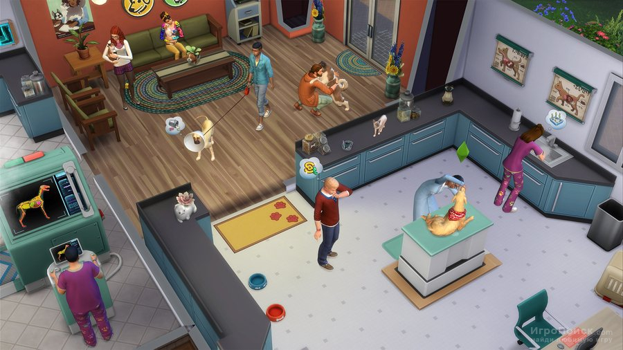 Скриншот к игре The Sims 4: Cats and Dogs
