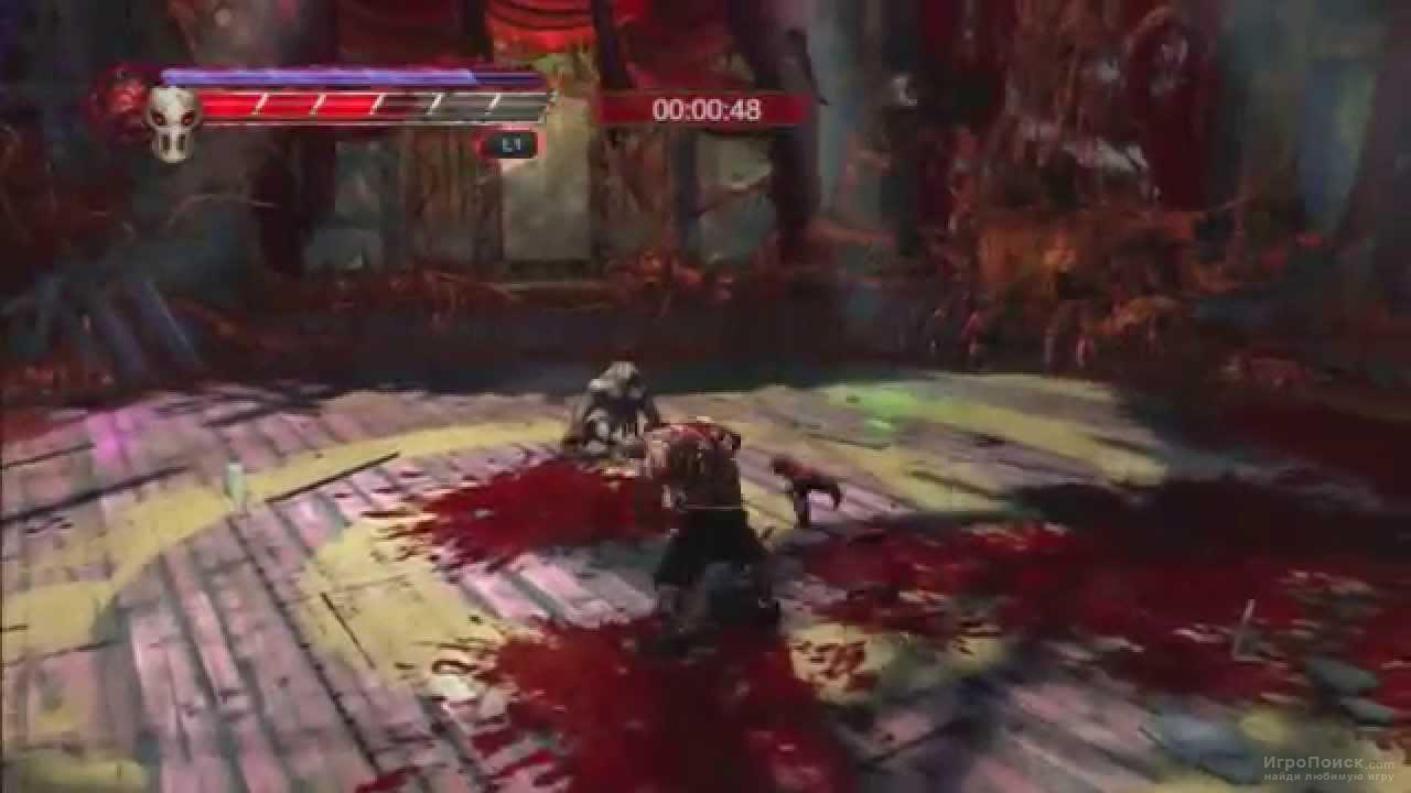 Скриншот к игре Splatterhouse 2010